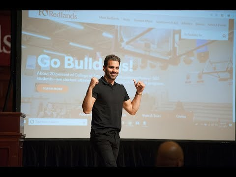 Nyle DiMarco Visits The University Of Redlands