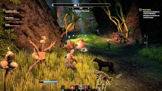 #04 Partie 01 : THE ELDER SCROLLS ONLINE : DONJON (PC Gameplay Découverte Fr) HD1080p