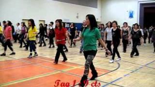 A Little Waltz ~ Winnie Yu (Walk thru & Danced) @ EZ Beginner Line Dance Workshop - Jan 2011