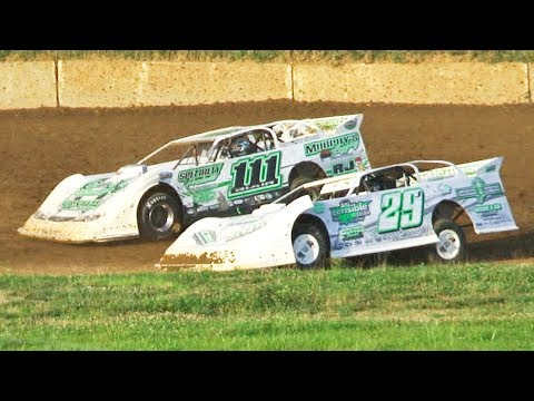 RUSH Crate Late Model Heat One | Eriez Speedway | 8-4-19