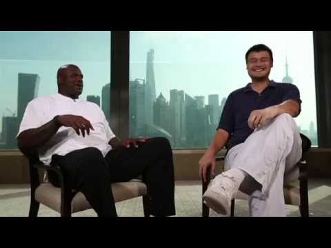 Shaq and Yao: Centers of Attention