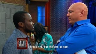 Steve Takes On An Abuser (The Steve Wilkos Show)