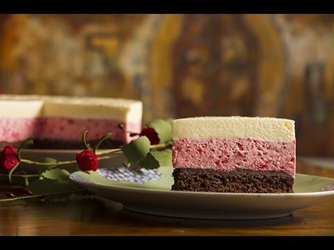 Mousse de fresa con chocolate f cil y r pido receta - Mousse de fresa ...
