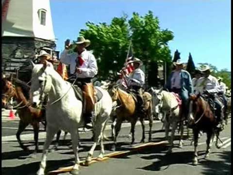 Rancheros Ride Again in Solvang, California - May 2010