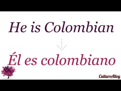 Видео Spanish grammar quizzer in taxation