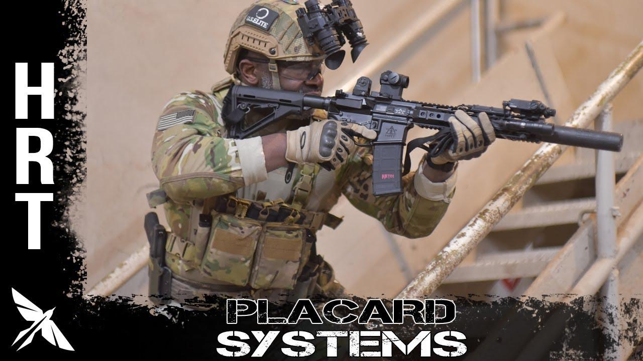 Hrt Plate Carrier Placard System - Swift Clip