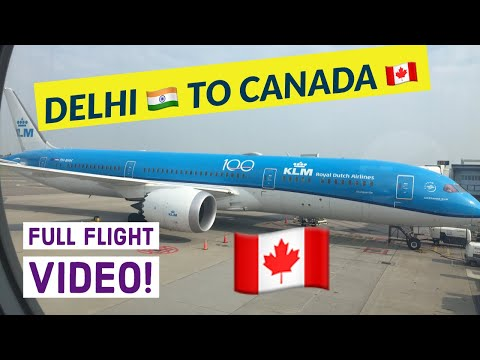 [DELHI 🇮🇳 to CANADA 🇨🇦 ] | Last day in India | Indians in Canada 2019