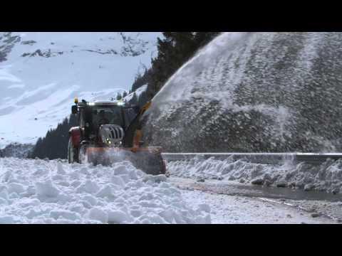 HYDRAC/STEYR Winterdienst-Schneeräum-Einsatz am Großglockner DE (62800248)