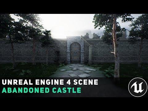 Unreal Engine 4 Scene - Abandoned Castle