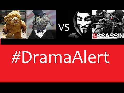 Lizard Squad, Team BudyBear, vs Anonymous, Essassin #DramaAlert