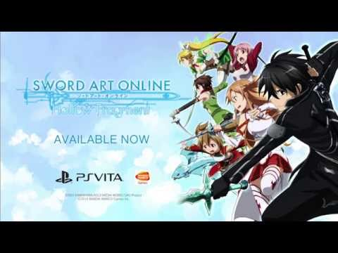 Sword Art Online: Hollow Fragment - Launch Trailer