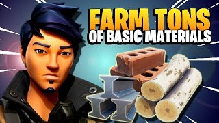 FASTEST WAY TO GET MATERIALS in Fortnite Save the World | New Player Guide Beginner Tips and Tricks
