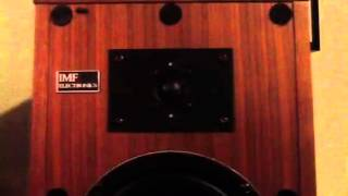 Vintage IMF Compact Monitor 2 Speakers