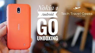 Nokia 1 (Android Go) Unboxing