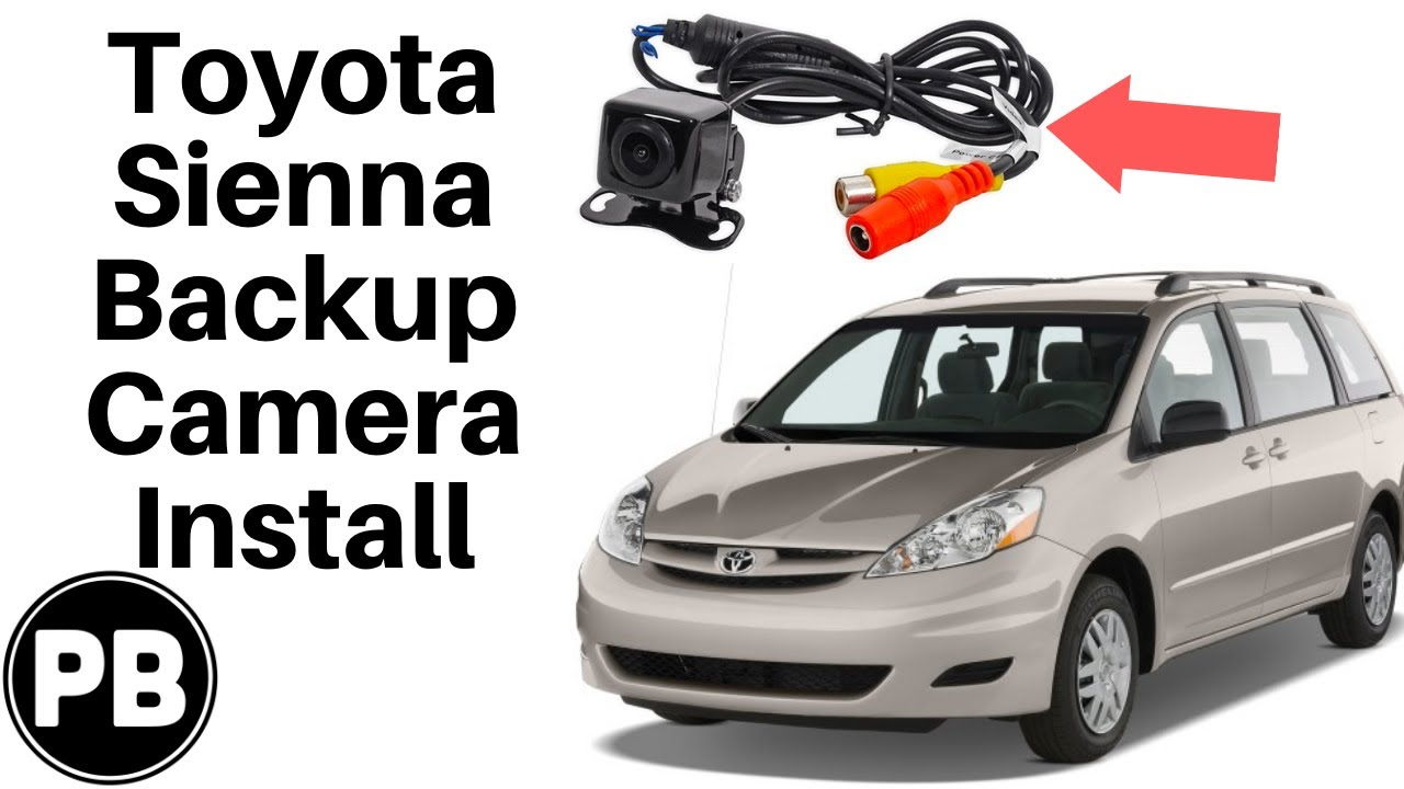Toyota Sienna Backup Camera Wiring Electrical Diagrams Honda Pilot Diagram 2004 2010 Install Youtube