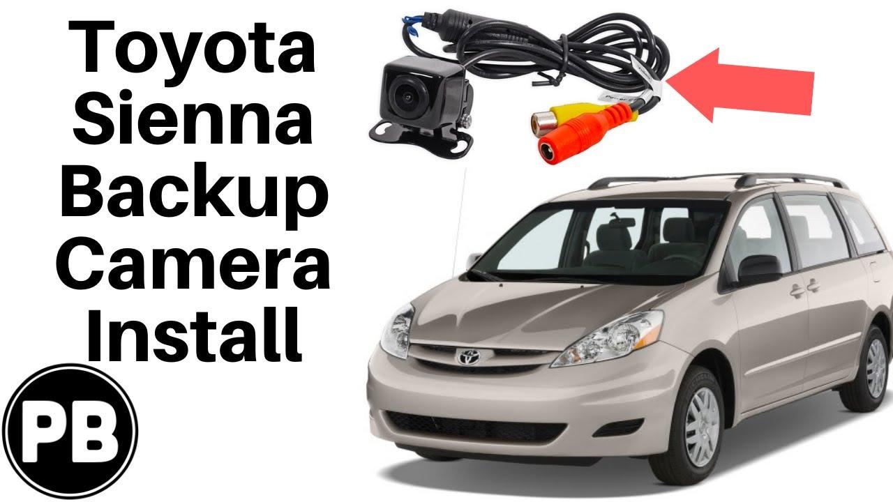 2004 2010 toyota sienna backup camera install youtube2010 sienna wiring diagram 10 [ 1280 x 720 Pixel ]
