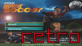 Retro - Adidas Power Soccer