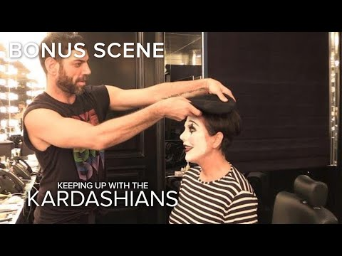 See Kris Jenner Transform Into a Mime