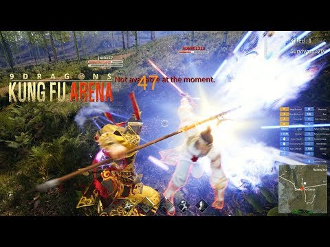 9Dragons : Kung Fu Arena Steam – Early Access Gameplay New Wuxia Battle Royal Games 2019 Eng