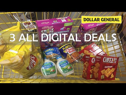 ALL DIGITAL $5 Off $25 Deals At Dollar General L Week Of 1/18/20 L FOOD & TOILET PAPER!