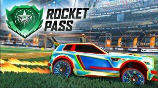 AMAZING *NEW* Rocket Pass 1 Car Designs - Pimp My Rocket League Ride