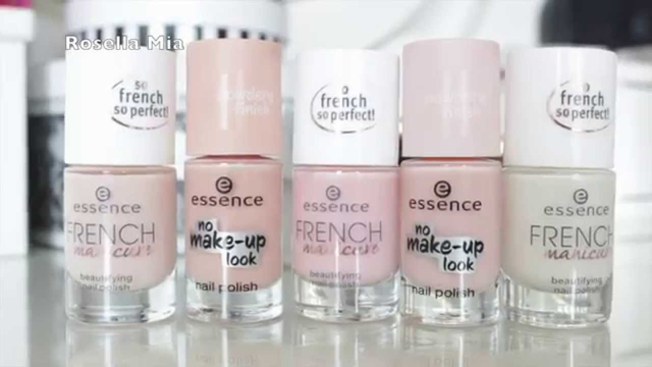 swatchparty essence no make up look french manicure i. Black Bedroom Furniture Sets. Home Design Ideas