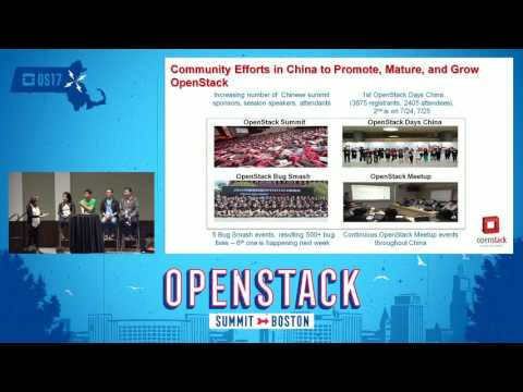 The Latest OpenStack Momentum in China