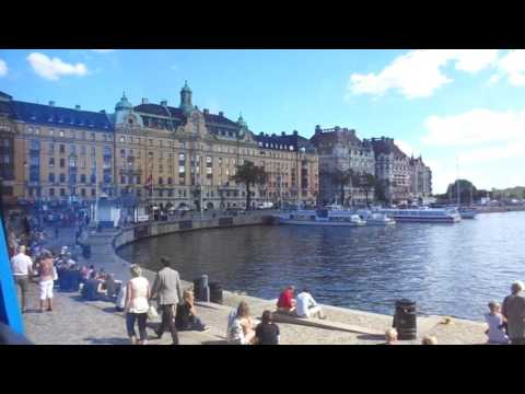 Walk along the marina in Stockholm Sweden with Eva's Best Luxury Travel!