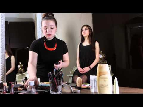 Уроки Макияжа : Дымчатый макияж для карих глаз