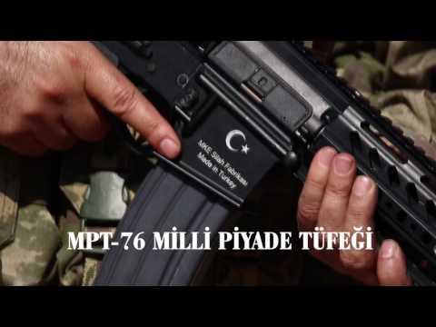 MKEK MPT 76 Milli Piyade Tüfeği - Turkish Infantry Rifle