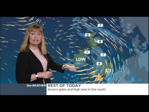 SIAN LLOYD:- itv  Weather -  Siân Lloyd