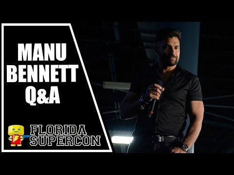 Manu Bennett Q&A at Florida Supercon 2015