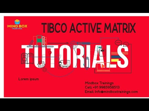 Tibco ActiveMatrix BW Online Training Session 2|MindBox Training Online