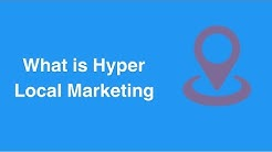 What is Hyperlocal Marketing?