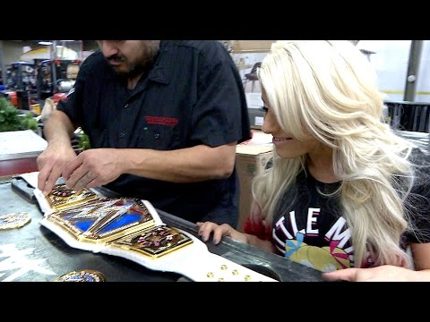 Alexa Bliss' custom plates are added: SmackDown LIVE Exclusive, Dec. 27, 2016
