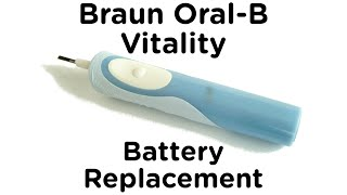 Battery Replacement Guide for Braun Oral-B Vitality Electric Toothbrush