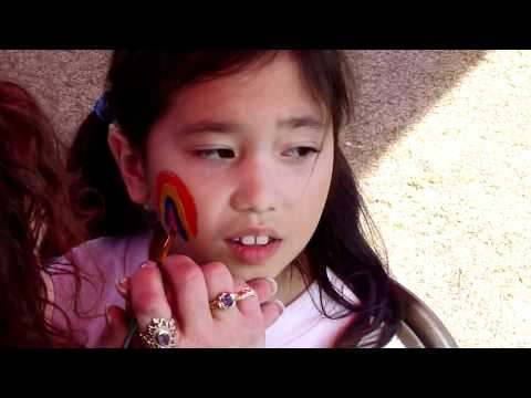 Victoria and Xingli - Valley Academy Spring Festival - Face Painting
