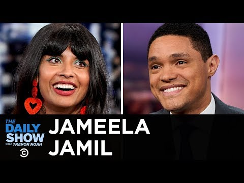 """Jameela Jamil - """"The Good Place"""" & Tackling Toxic Diet Culture   The Daily Show thumbnail"""