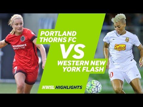 Portland Thorns FC vs. Western New York Flash: Highlights - Sept. 11, 2016
