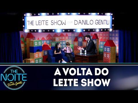 A volta do Leite Show   The Noite 100419