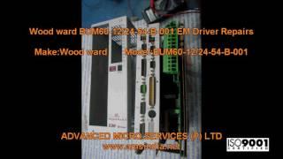 wood ward bum60 12 24 54 b 001 em driver repairs advanced micro services pvt ltd bangalore india