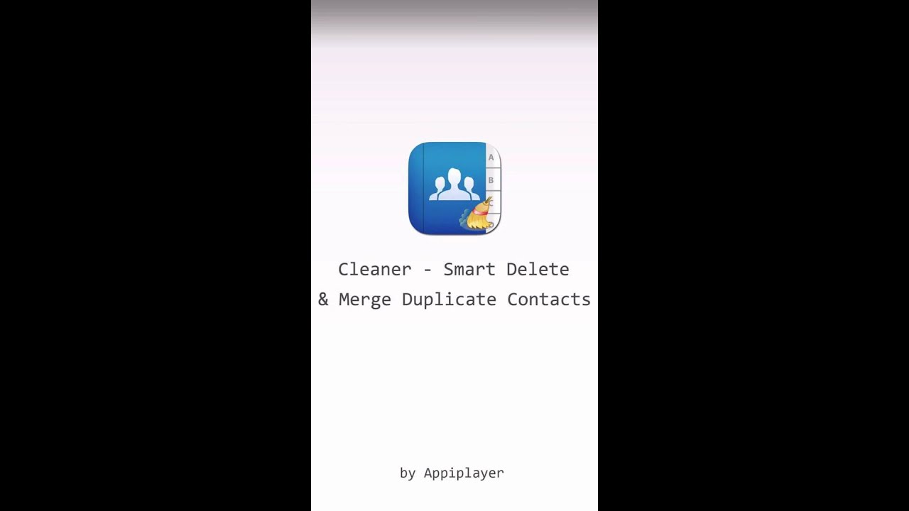 Cleaner – Smart delete and merge duplicate contacts from your address book  on iPhone / iPad