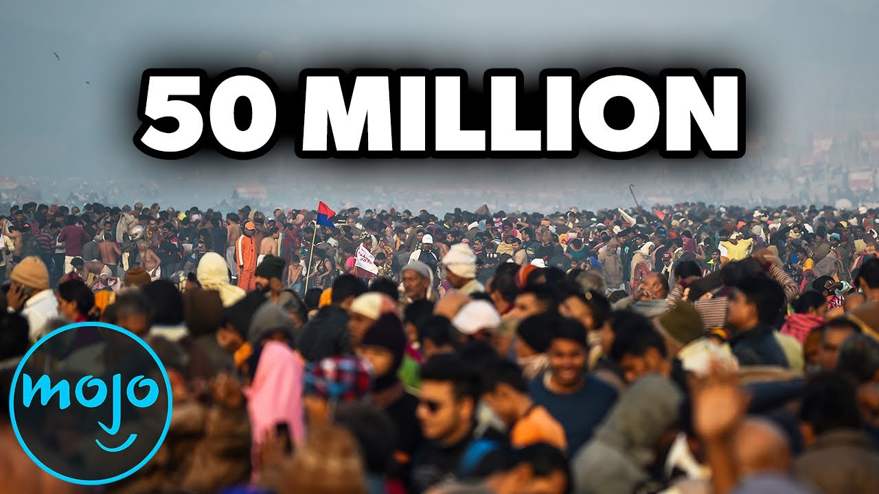 Download Top 10 Largest Crowds Ever Caught on Camera