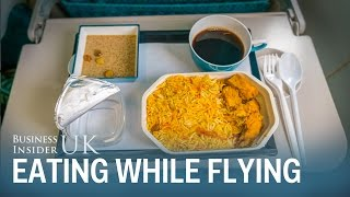 Why we consume more than 3,000 calories while flying