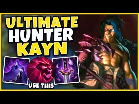 This Build Completely Maximizes Kayns Damage Capabilities | Challenger Kayn - League of Legends
