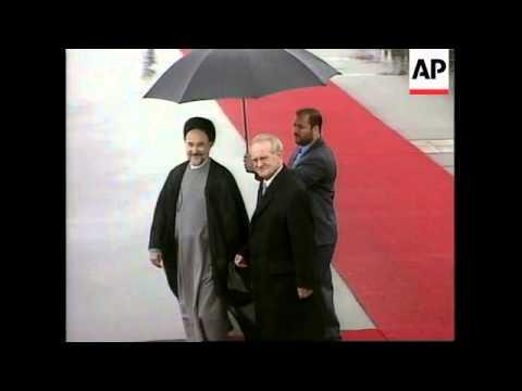 GERMANY: BERLIN: IRANIAN PRESIDENT KHATAMI VISIT