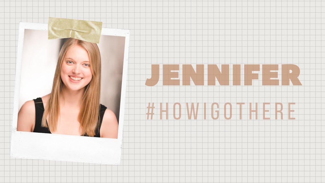 HOW I GOT HERE: Jennifer Vosters