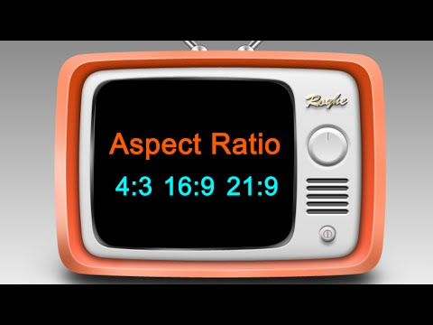 Video Aspect Ratio: what it is and which one to choose?