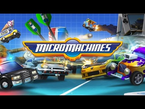 Micro Machines - Крутая гоночка на Android (Review)