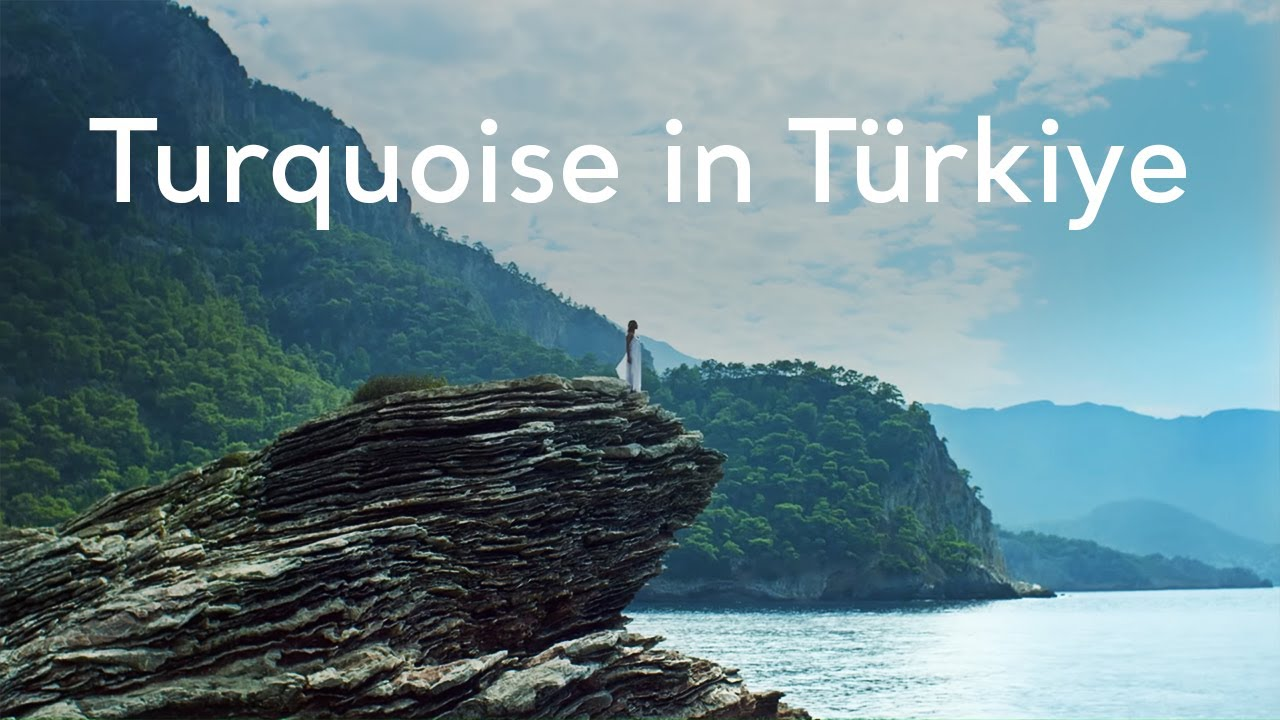 Feel the meaning of Turquoise in Turkey!